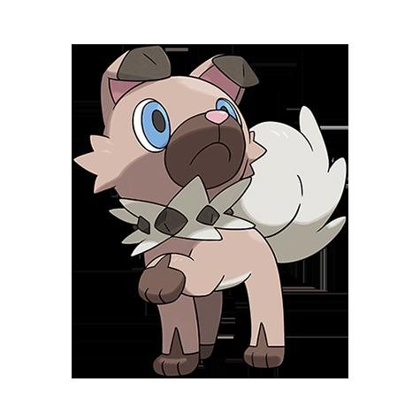 Pokémon Ultra Sole e Ultra Luna Rockruff