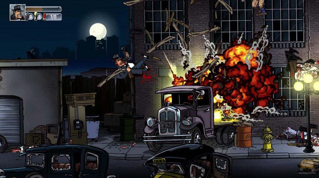 Gli sparatutto sono un genere sempreverde e quelli in 2d a scorrimento a laterale più che mai: Guns, Gore & Cannoli di Crazy Monkey Studios è l'esempio di un sempreverde che funziona e diverte.