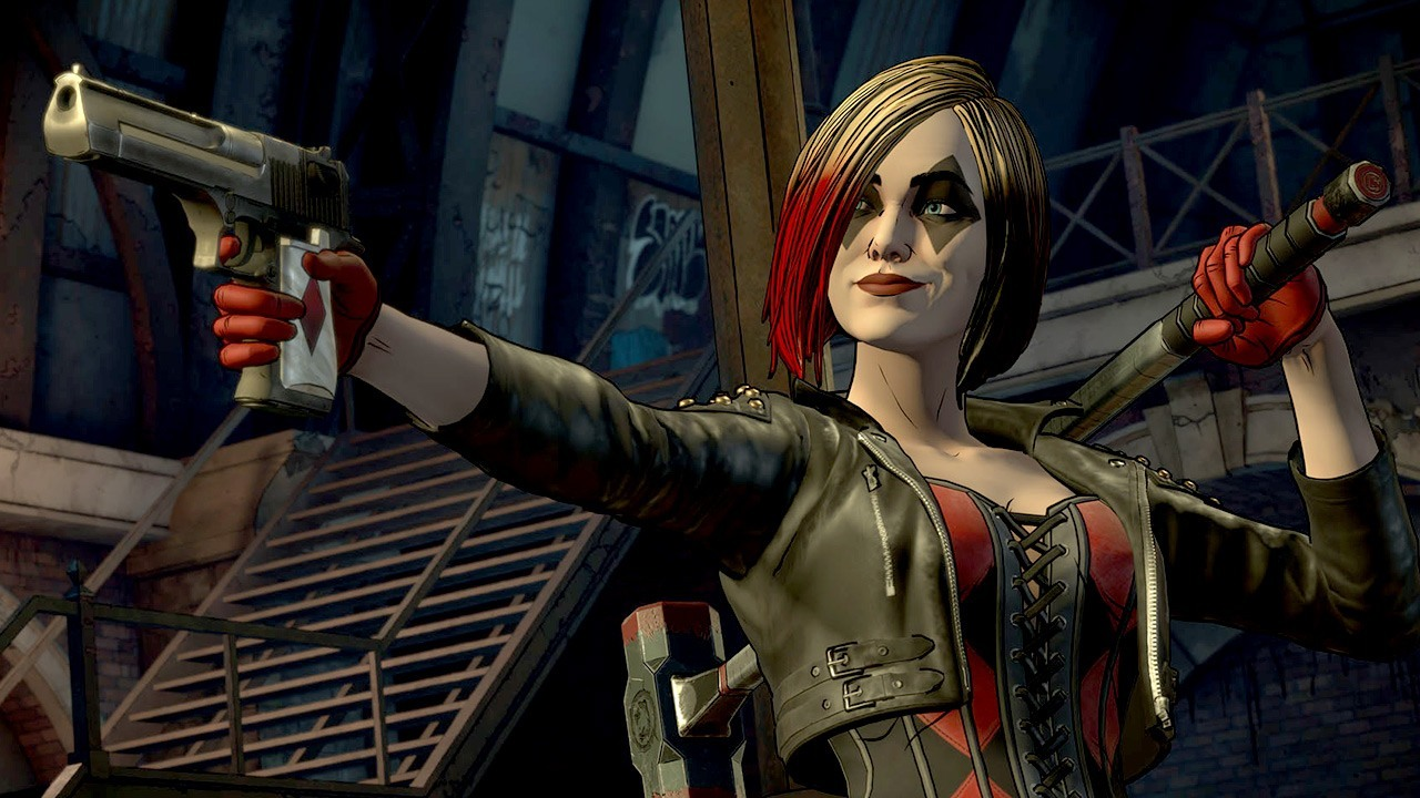 Batman The Enemy Within – Episode 3 Fractured Mask Harley Quinn