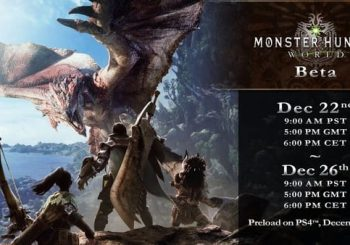 La Open Beta di Monster Hunter World riapre i battenti!