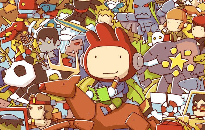 Un leak apparentemente svela il nuovo Scribblenauts Showdown