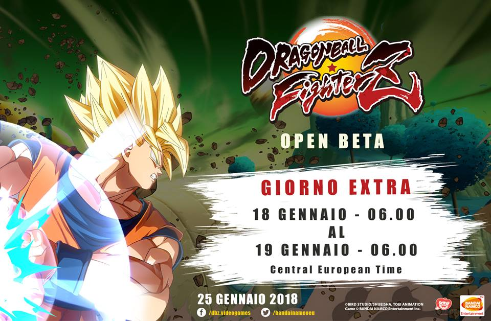 dragon ball fighterz beta estensione