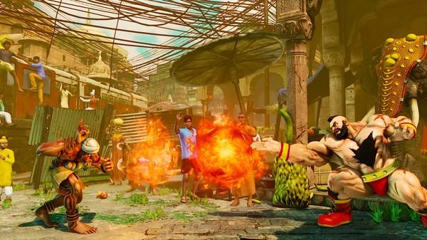 Street Fighter 5 V trigger 2