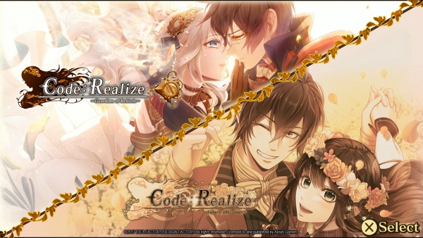 Data europea di Code: Realize ~Bouquet of Rainbows~