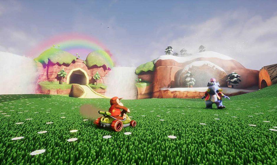 Diddy Kong Racing ricreato in Unreal Engine