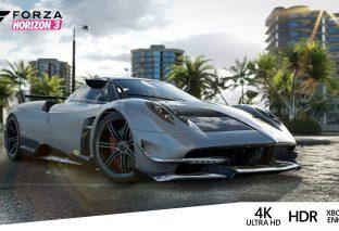 Forza Horizon 3 in 4K su Xbox One X grazie al nuovo aggiornamento