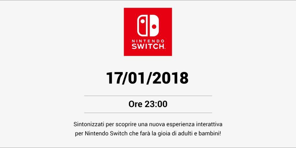 nintendo switch annuncio