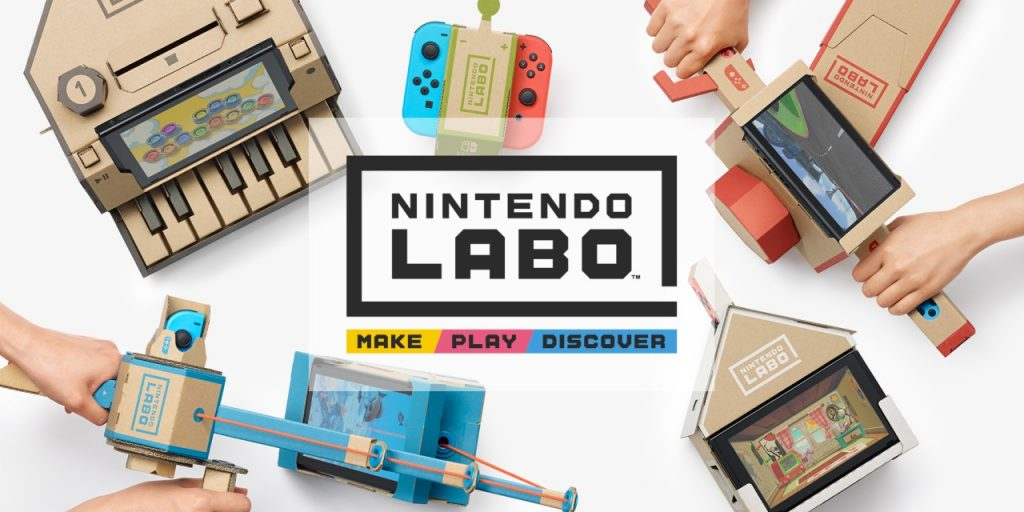Nintendo annuncia Nintendo Labo