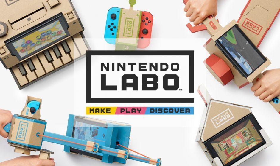 LABO VR: Zelda e Super Mario compatibili?