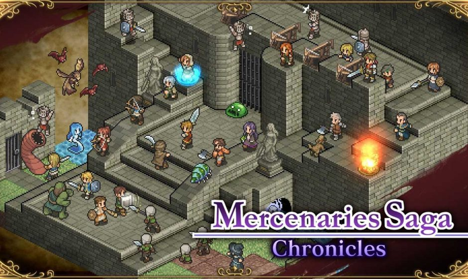 Mercenaries Saga Chronicles arriva in Europa l'8 Febbraio