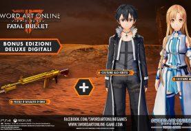 Bonus preorder della edizione digitale di SAO: Fatal Bullet