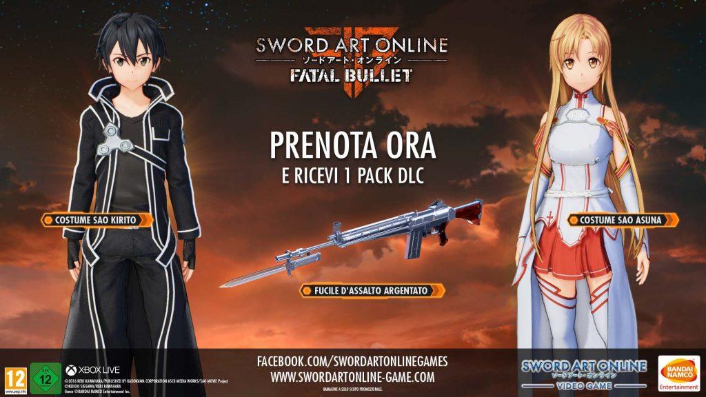 Sword Art Online Fatal Bullet Digital Deluxe Edition