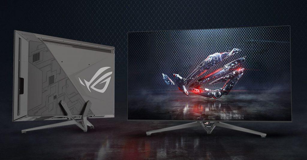 CES 2018 Nvidia monitor 4k 65 pollici