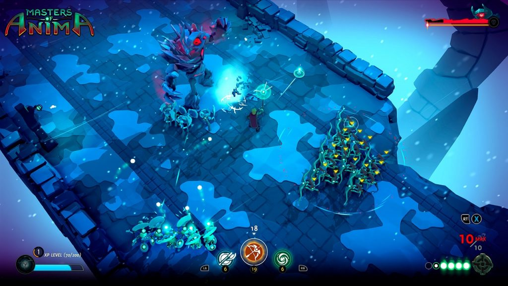 Primo gameplay trailer per Masters of Anima