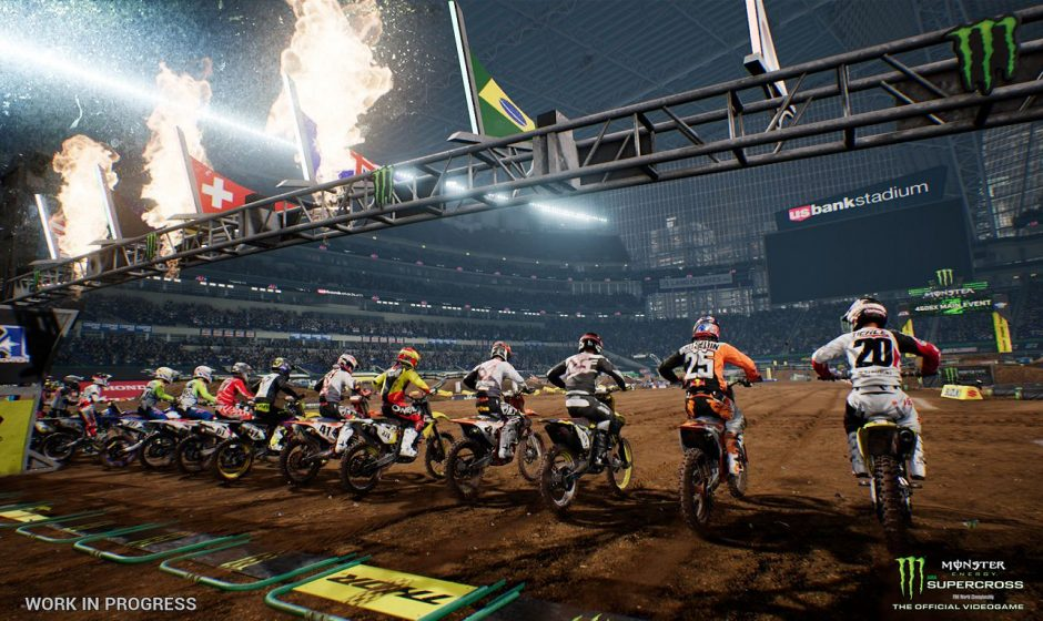 Milestone svela il dietro le quinte di Monster Energy Supercross: The Official Videogame