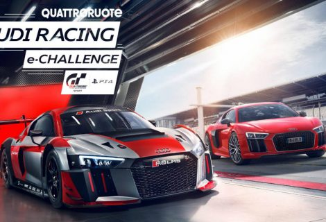Quattroruote Audi racing e-challenge: competizione e divertimento