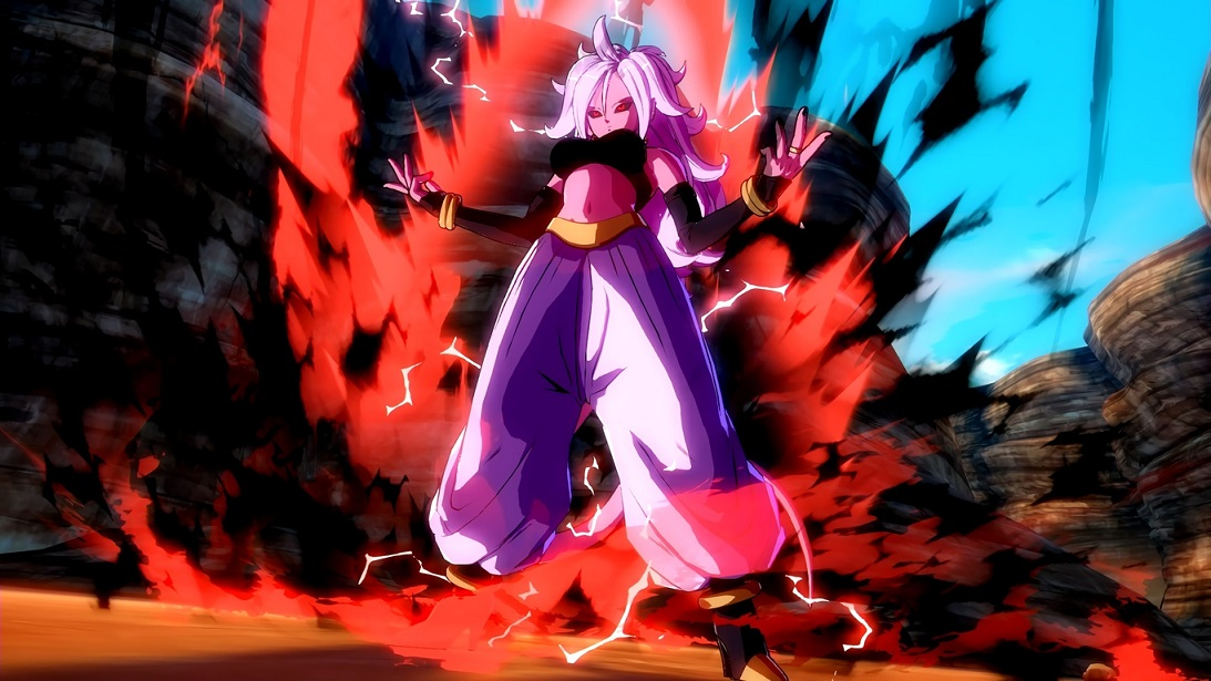 Dragon Ball FighterZ Androide 21 Majin