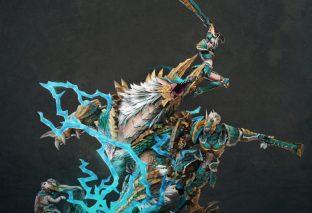 Nuova statua di Monster Hunter
