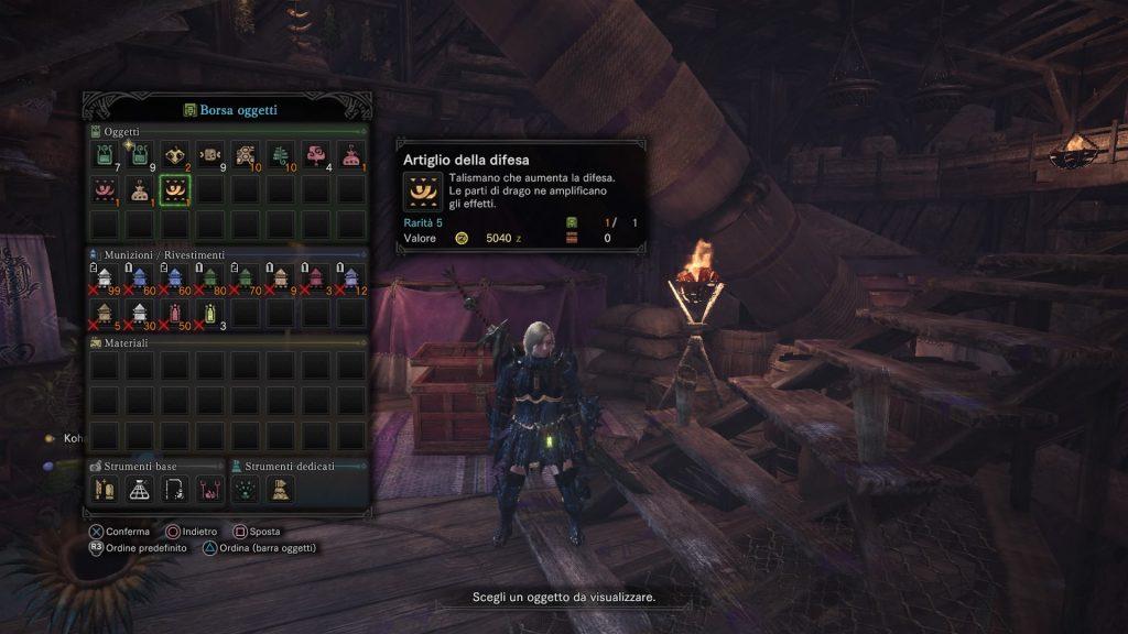 Monster Hunter World Aumentare Attacco e Difesa