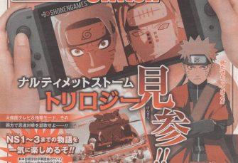 Naruto Shippuden: Ultimate Ninja Storm Trilogy su Switch