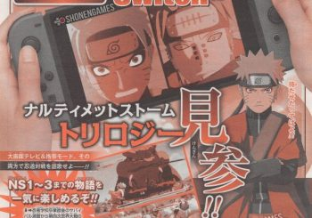 Naruto Shippuden: Ultimate Ninja Storm Trilogy su Switch