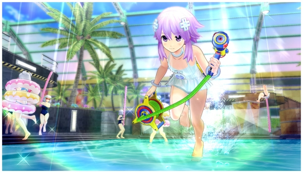 Neptune approda in Senran Kagura: Peach Beach Splash