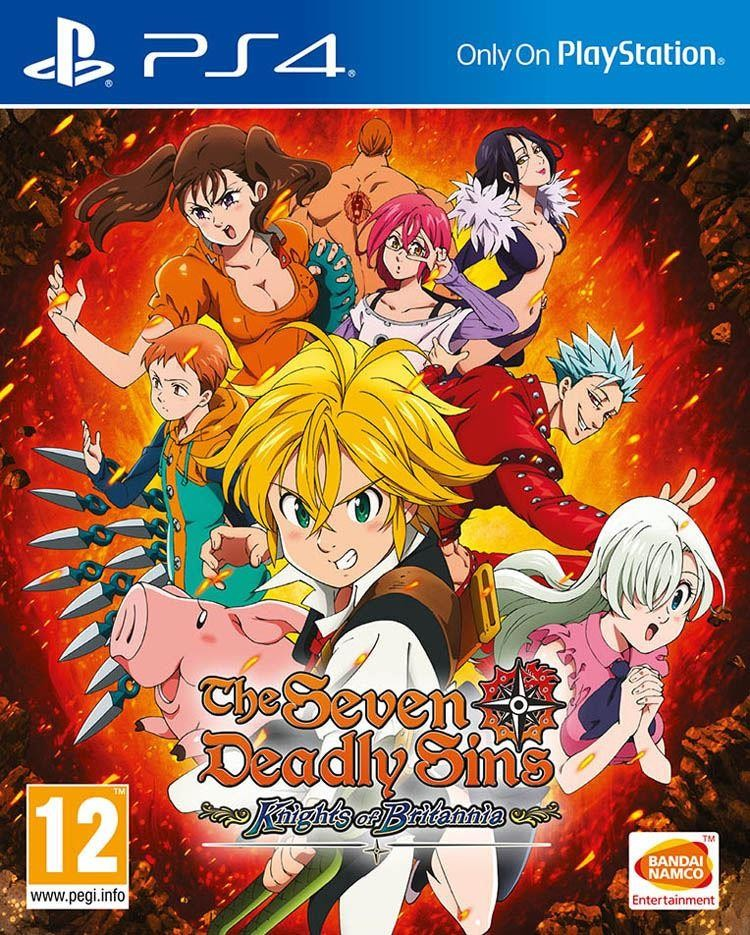 Cover The Seven Deadly Sins: Knights of Britannia