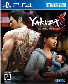 Cover Yakuza 6