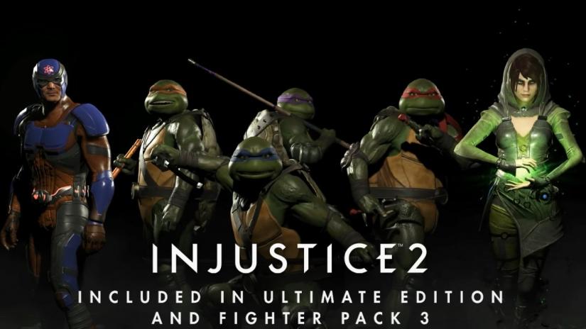 injustice 2 tartarughe ninja