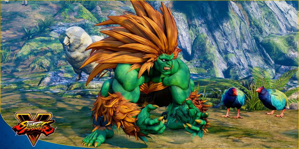 Street Fighter V Arcade Blanka
