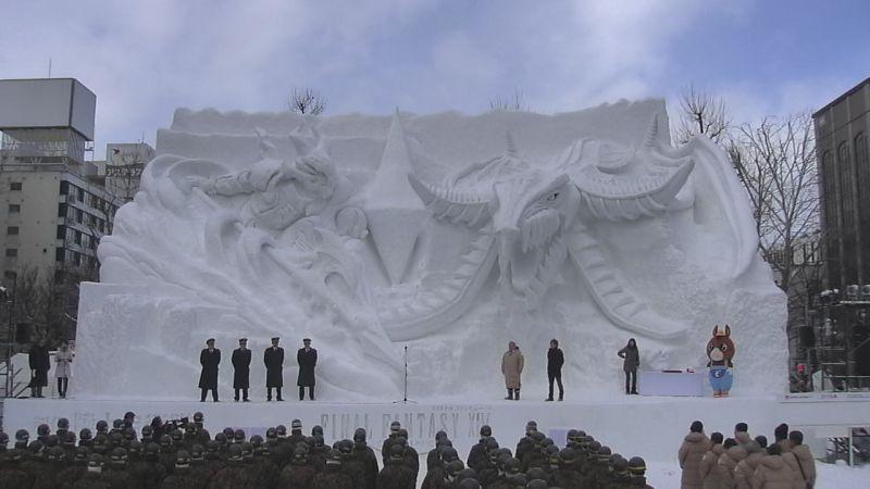 Final Fantasy XIV: una magnifica scultura in onore del MMORPG