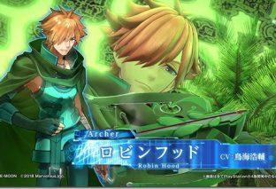 Fate/Extella Link, il nuovo personaggio è Robin Hood