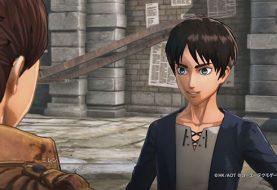 Video gameplay di Attack on Titan 2 con Eren e Levi