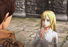 Gameplay di Attack on Titan 2 con Krista e Ymir