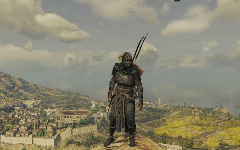 Assassin's Creed Origins Cappuccio Nero