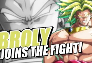 Broly piomba nell'arena di Dragon Ball FighterZ