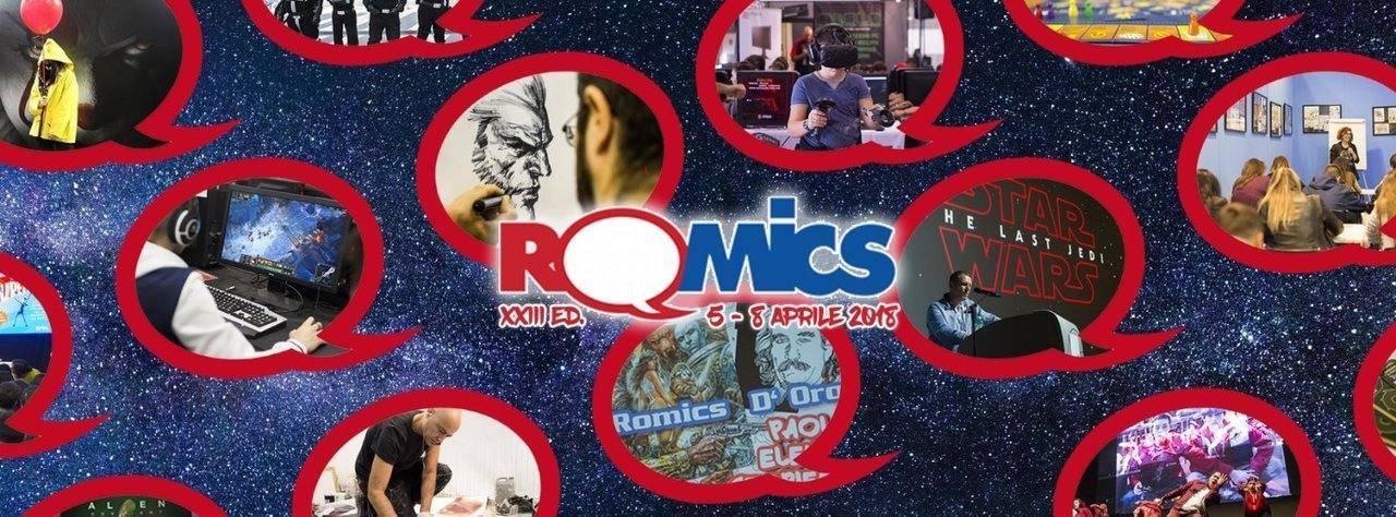 Romics 2018 aprile