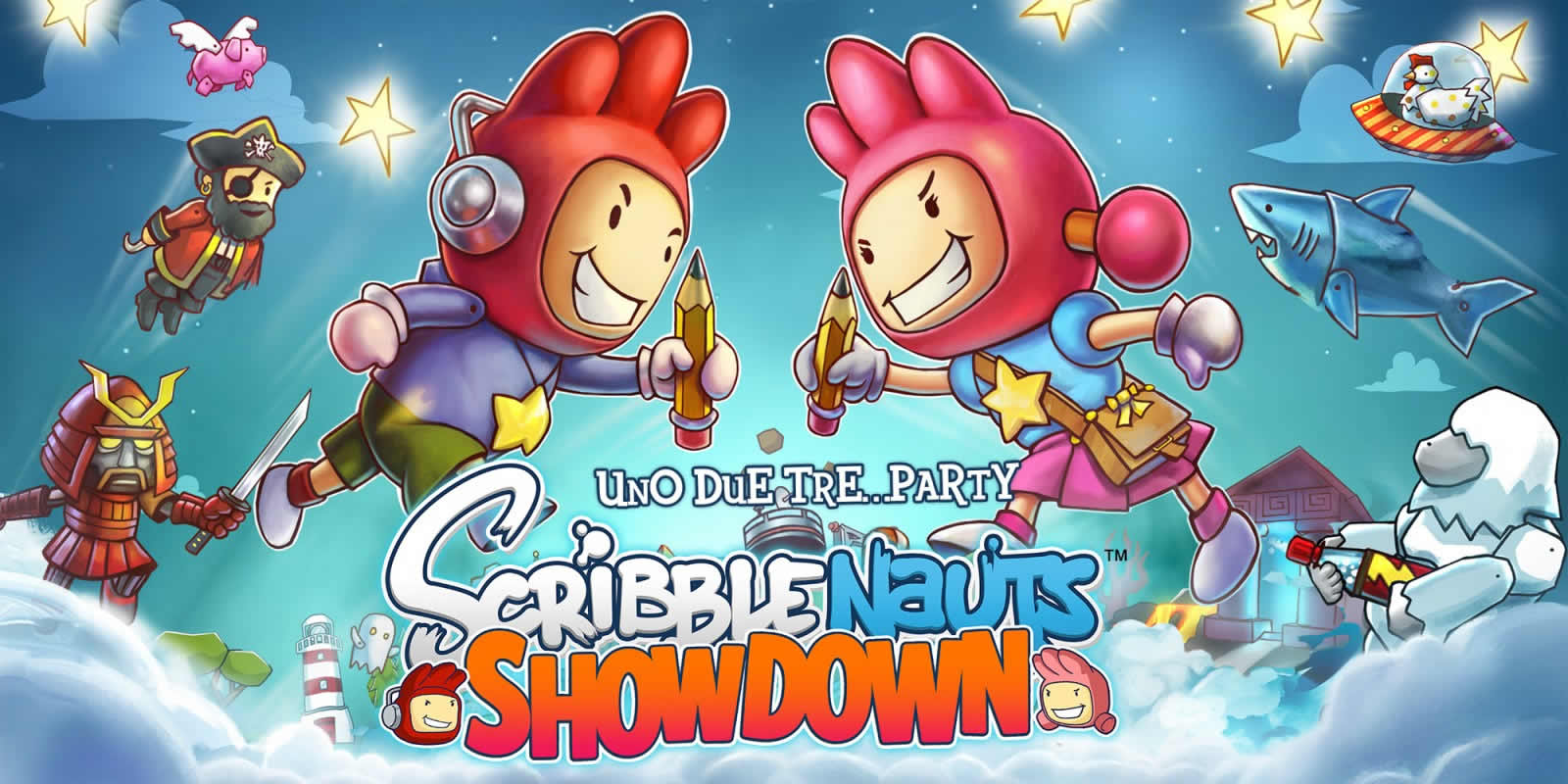 Scribblenauts Showdown in arrivo domani