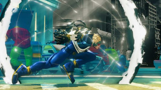 Street Fighter V Nash Captain Commando screenshot1