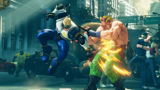 Street Fighter V Nash Captain Commando screenshot2