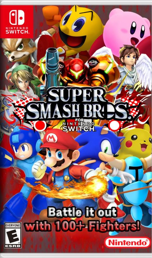 Cover Super Smash Bros.