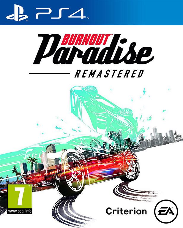 Cover Burnout Paradise Remastered