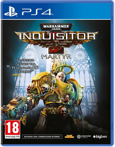 Cover Warhammer 40,000: Inquisitor – Martyr