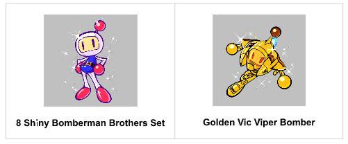 Super Bomberman Personaggi digitale