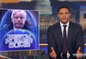 The Daily Show sbeffeggia Trump sui videogiochi violenti