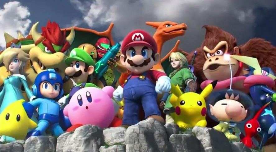 La storia della Super Smash Bros. saga