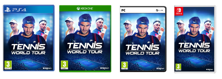 tennis world tour covers