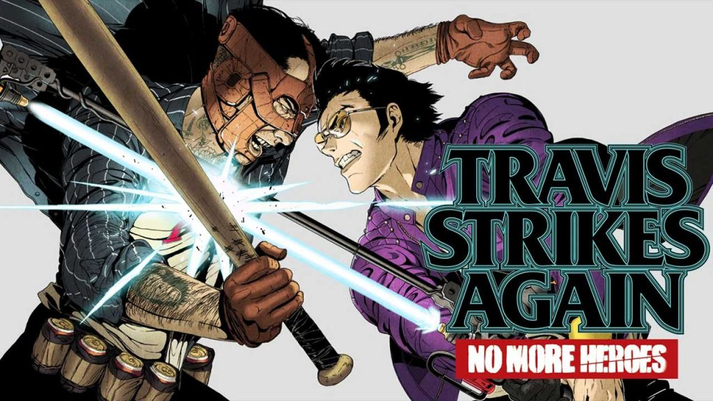 Travis Strikes Again: No More Heroes gameplay