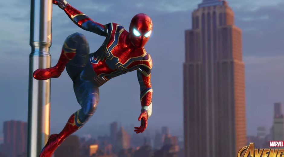 Spiderman di Insomniac avrà il costume di Iron Spider da Infinity War