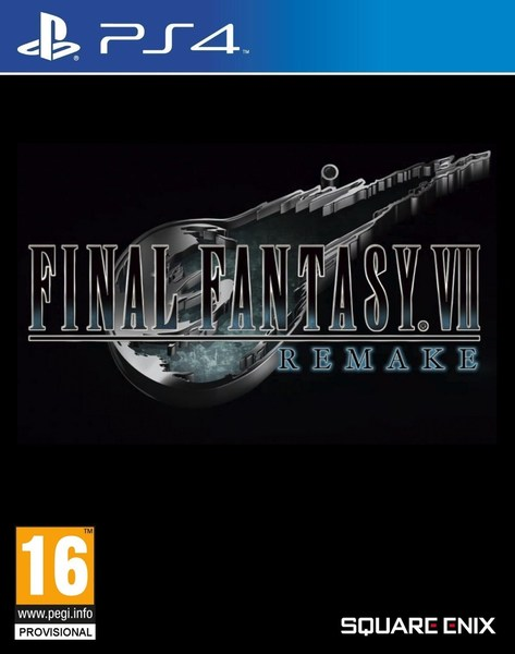 Cover Final Fantasy VII Remake